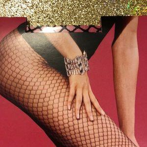⬇️BOGO⬇️ Vintage Victoria's Secret Black Fishnets